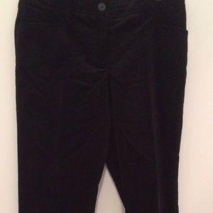 Anne Klein Soft Corduroy Velvet Dress Pants 14 new